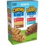 58-Ct Quaker Chewy Granola Bars & Dipps Variety Pack