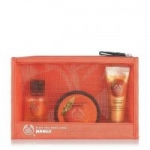 The Body Shop: 2oz Mango Lotion $2 3-Piece Mango Beauty Bag
