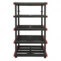 Craftsman 5-Tier Plastic Freestanding Shelving Unit (24″ x 40″ x 72″)
