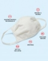 10-Pack Hanes Wicking Cool Comfort 3-Ply Reusable Masks