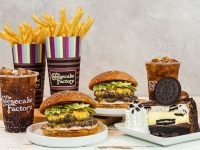 Cheesecake Factory 7-Items Promotional Deal (Burger Fries Drinks Cheesecake)