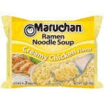24-Pack 3-oz. Maruchan Ramen Noodles (Creamy Chicken)
