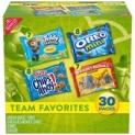 30-Pack Nabisco Team Favorites Cookies & Crackers Variety Pack