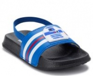 Kids' Footwear: Star Wars R2D2 Soccer Slides or Superman Slide Sandals