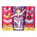 Melissa & Doug Toys: Ballerina Mix & Match Peg Puzzle