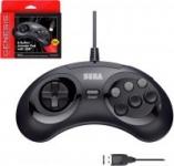 Retro-Bit Sega Genesis 6-Button Arcade Pad (Black)