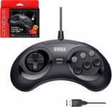Retro-Bit Sega Genesis 6-Button Arcade Pad (Black)