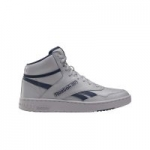 Men's Reebok BB 4600 Basketball Shoes (Tin Grey/Collegiate Navy)