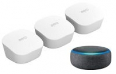 3-Pack eero AC Dual-Band Mesh WiFi System + Amazon Echo Dot (3rd Gen)