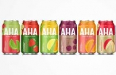 8-Pack 12oz AHA Sparkling Water (Various Flavors)