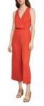 BCBGMAXAZRIA Women's Apparel: Surplice Jumpsuit (Red) or Keyhole-Cutout Romper
