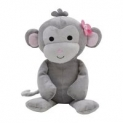 Bedtime Originals Plush Animals: Pink Elephant $8 Cupcake Monkey