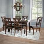 Sam's Club Members: 7-Piece Edgewater Solid Wood Dining Furniture Set (Espresso)