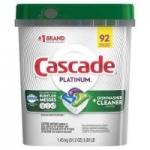 Sam's Club Members: 92-Ct Cascade Platinum ActionPacs Dishwasher Detergent