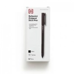 12-Pack TRU RED Ballpoint Comfort Grip Medium Point Pens (black/blue/red)