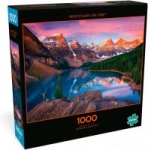 1000-Piece Buffalo Games Photography Jigsaw Puzzle (Mountains on Fire)