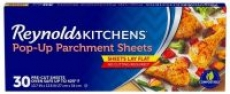 30-Count Reynolds Kitchens Pop-Up Parchment Paper Sheets (10.7″x13.6″)