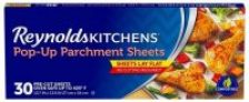30-Count Reynolds Kitchens Pop-Up Parchment Paper Sheets (10.7″x13.6″)