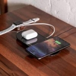 Amazon mophie Dual Wireless Charger (Qi-Certified) 7.5W for $13.97 and 10W for $15.97 + Free Shipping w/ Prime