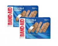 100-Count Band-Aid Flexible Fabric Adhesive Bandages (Assorted Sizes)