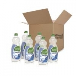 6-Pack 25oz Seventh Generation Dish Liquid Soap (Free & Clear)