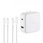 Costco Members: Ubio Labs USB-C + Lightning Cable 30-Watt Wall Charger Kit