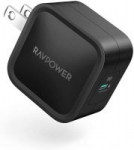 RAVPower 30W Power Delivery 3.0 GaN Tech USB-C Wall Charger (Black or White)