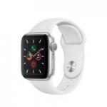 Apple Watch Series 5 GPS Smartwatch (White 40mm Aluminum Case)