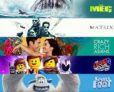 Digital 4K: The LEGO Movie 2 Smallfoot Crazy Rich Asians The Meg or The Matrix