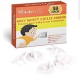 38-Pack Vmaisi ChildProof Outlet Plug Protectors
