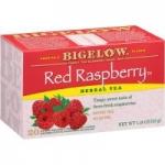 6-Pack of 20-Count Bigelow Red Raspberry Caffeine-Free Herbal Tea