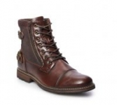 Kohl's Cardholders: Sonoma Goods For Life Felix Men's Ankle Boots (Dark Brown)
