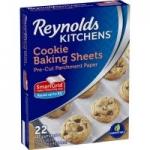 22-Ct Reynolds Kitchens Non-Stick Baking Parchment Paper Sheets (12″ x 16″)