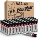 48-Count Energizer Triple A Max AAA Alkaline Batteries