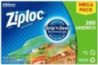 280-Count Ziploc Sandwich Bags