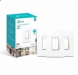 3-Pack TP-Link HS220P3 Kasa Smart Dimmer WiFi Light Switch
