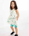 Hanna Andersson Printed Play Dress $10.50 Little Girls' Swing Dress