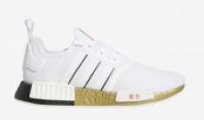 adidas Originals NMD R1 Running Sneakers (White/Black)