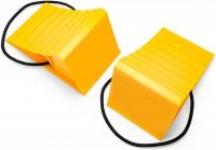 2-Pack Camco Wheel Chocks w/ Rope