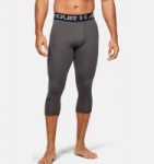 Under Armour: Men's or Women's Velocity Hoodie $20 Men's HeatGear 3/4 Leggings