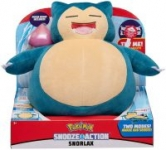 10″ Snorlax Pokemon Snooze Action Plush w/ Pecha Berry