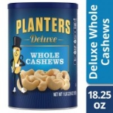 18.25-Oz Planters Deluxe Whole Cashews Roasted in Peanut Oil with Sea Salt