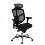 WorkPro Quantum 9000 Series Ergonomic Mesh High-Back Chair w/ Headrest
