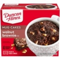 4-Count Duncan Hines Mug Cakes (Walnut Brownie)