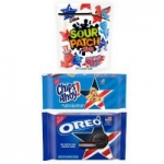 3-Pack Team USA Oreo Chips Ahoy! & Sour Patch Kids Variety Pack