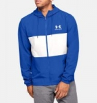 Men's Under Armour Jackets: UA Sportstyle Wind Jacket (Versa Blue or White)