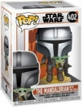 Funko Pop! Star Wars: The Mandalorian: Flying w/ The Child Pre-Purchase Figure