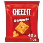 Prime Members: 40-Count 1oz Cheez-It Baked Snack Cheese Crackers (Original)