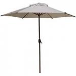 Grand patio 9 FT Enhanced Aluminum Patio Umbrella UV Protected Outdoor Umbrella with Auto Crank and Push Button Tilt Not Prime 50% Off Amazon $29.99 or Cheaper Shipped