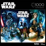1000-Piece Buffalo Games Star Wars Pinball Art Jigsaw Puzzle